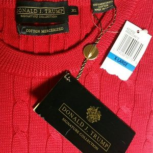 Donald Trump red sweater size extra larextra large